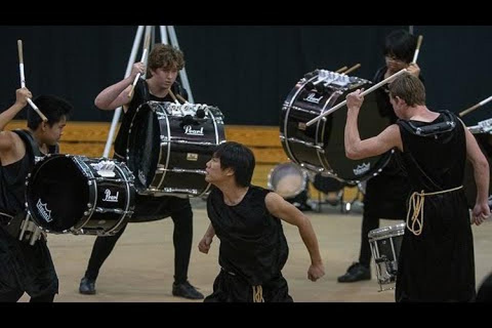 West Campus Drumline Show Spring 2019