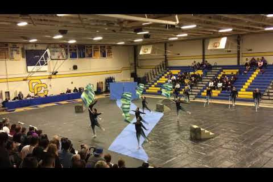 West Campus Winterguard Show Spring 2019